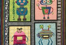 Alien, Space, and Sci-fi Quilts / Exploring creativity through other-worldly quilting.  Who doesn't love a quirky space creature?