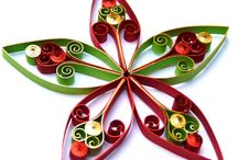 christmas / karácsony / quilling / Minden, ami quilling és karácsony :-). Papírcsíktechnikával készült egyedi kreációk, dekorációnak vagy ajándékba.