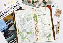notebook insert decor