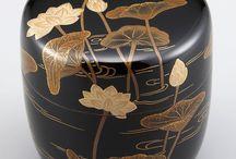 Japanese Lacquered Bowls & Chopsticks