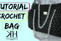 Tutoriales Bolsos Crochet