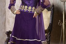 Readymade Churidar Suits / #Designer #Embroidered #SalwarSuit with patch work to go for parties
