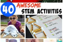 STEM Activities for kids / Science, technology, engineering and math