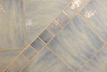 Antiche Fornaci D'Agostino - riflessi di Cava / Perla, blu mare, giada, nuvola, blu notte, brezza, rugiada, onda.