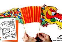 paper kids craft / by Кrокотак