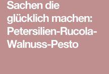 Nudeln / Pesto