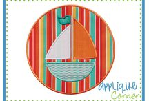Embroidery Designs - Boats and Vehicles