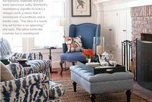Interiors: traditional plus color