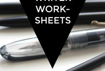 **Writers** Worksheets, Exercises etc