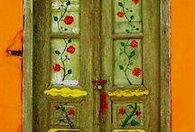 Beautiful Greek Doors
