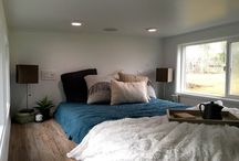 Tiny House Bedrooms / A variety of tiny house bedrooms to help you figure out the best option for yourself.