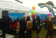 ROCA na pikniku PHIG / Piknik z PHIG odbył się 15 czerwca w Warszawie. Imprezę odwiedziło ponad 1000 osób. Roca przygotowała specjalne konkursy oraz warsztaty dla dzieci i dorosłych o tematyce: eksperymenty z wodą, banki mydlane, dekoracja ceramiki. / by ROCA POLSKA