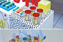 Superhero Party Ideas / Ideas for superhero parties