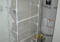 Garage and PVC organising