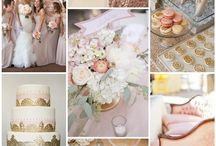 Wedding ♥ Blush and Gold