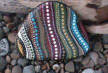 rock/stone painting