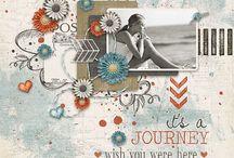 Scrapbook Ideas - Beach Theme