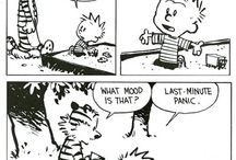calvin and hobbes <3 :D :*