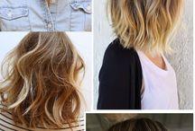 Les cheveux courts
