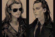 Loki and Thor :D