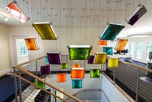 Commercial Applications / We special in lighting design and fixtures for commercial spaces. Here are a few examples: