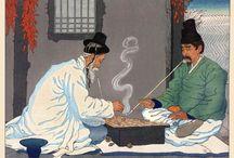 Korean traditional (Drawing)