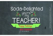"""CSL - Fun Gifts For A Teacher / """"A good teacher can inspire hope, ignite the imagination, and instill a love of learning."""" Brad Henry"""