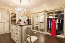 Dream Closet & Dressing Room Ideas / Every dream closet I could dream of and want for a closet and dressing room!