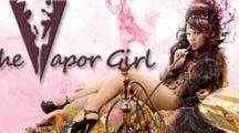 The Vapor Girl Logos / Http://www.thevaporgirl.com