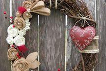 DIY: Wreaths / Grapevine