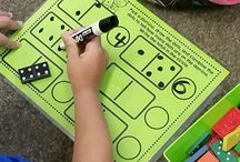 Math Centers for K-2 / Task cards, games, card sorts, and more math center activities for counting, addition, subtraction, place value, and lots of other K-2 math topics.