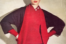 Vintage Women's Fashion / Vintage Knitting and Crochet Patterns for Women