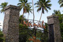 My gavourite gateway at Namale Resort