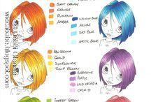 Promarker colour charts