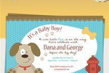 Puppy Dog Baby Shower Ideas