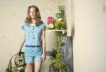 """Secret Garden SS17 - Homewear e Sleepwear // Pepita / Scopri la nuova collezione """"Sercret Garden"""" by Pepita"""
