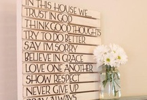 For the Home / by Jen Bullano
