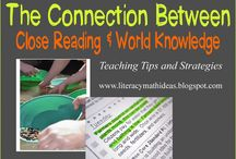 Close Reading / Teacher resources and activities for close reading in primary grades.