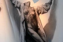 Ernest Pignon Ernest / Artiste sensible aux injustices, il crée des images éphémères sur les murs des grandes villes.