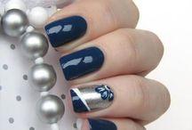 Синие Ногти
