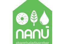 Filosofia Nanù / Il fil rouge che lega tutto il progetto Nanù, dall'idea alla realizzazione, vuol essere quello di proporre prodotti sani, freschi e di far sentire i clienti in un luogo accogliente e casalingo, da qui l'idea di ricreare la forma di una casa.
