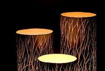 Tall grass candles