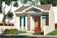 Casas de até 100m² / Casas feitas especialmente para terrenos com dimensões reduzidas.