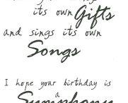 Card Verses - Birthday / by Linda Spray