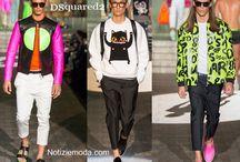 DSquared2 uomo / DSquared2 collezione e catalogo primavera estate e autunno inverno abiti abbigliamento accessori scarpe borse sfilata uomo.