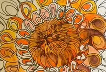 """ADULT Coloring Books / These make lovely gifts for special friend, loved one and simply to gift yourself. -Always been a happy-go-lucky """"flower child"""" at heart-"""