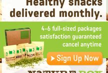 ♥ SNACK HEALTHY WITH NATURE BOX ♥ / Nature Box is your source to delicious,nutritious full size snacks that are delivered fresh,monthly to your door! :) Each box comes with 4-6 full size delicous,nutritious snacks that you can customize,or allow Nature Box to select for you! PLUS,its all for a very good cause too! For every box  delivered,Nature Box donates one meal through Feeding America® to help the millions of Americans who go hungry :)    GET $10 OFF YOUR FIRST ORDER,USING THIS PROMO CODE: LM8K-4NY @ www.naturebox.com