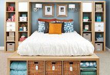 Bedroom storage solution