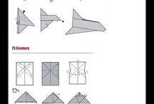 papel de aviones