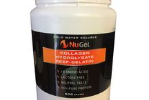 Collagen Hydrolysate Beef Gelatin / http://nustrength.com.au/product/nugel-700g/